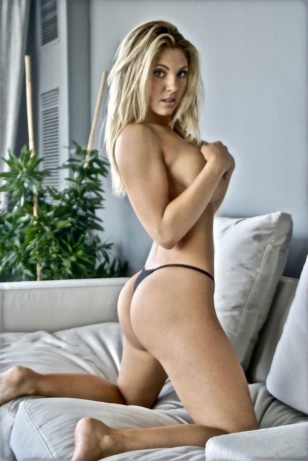 Mallory Clark Implied Nude Photo by Photographer Macro