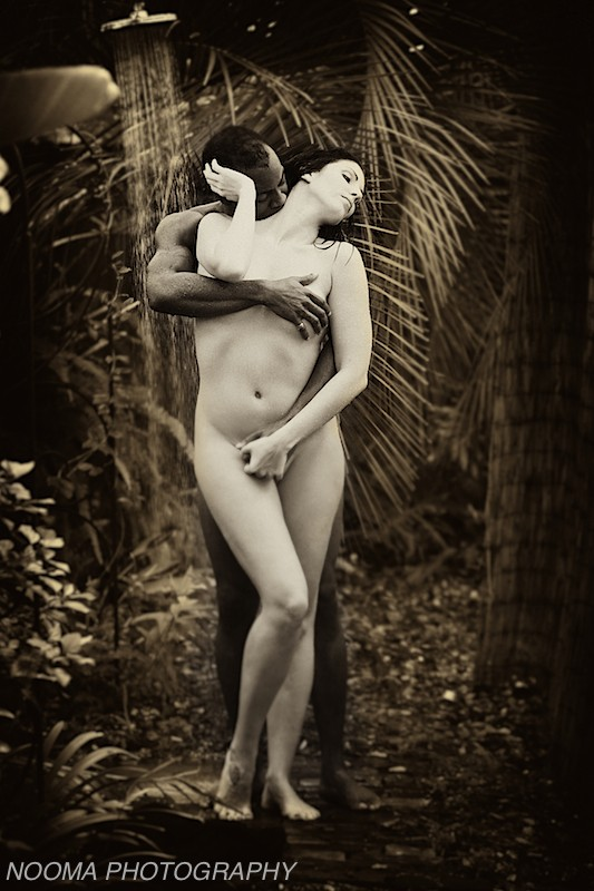 Man & Woman shower Artistic Nude Photo by Photographer Nooma Photography