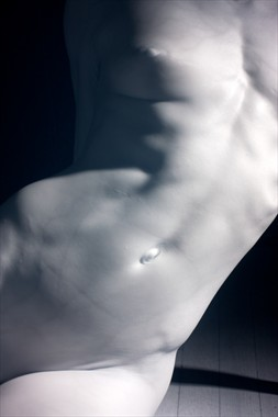 Marble torso Artistic Nude Photo by Model Laura Dasi