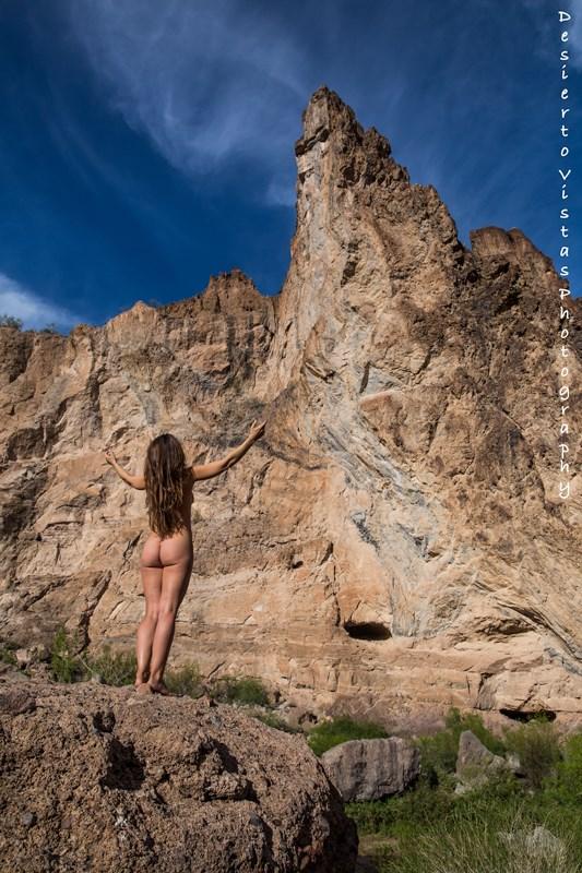 March 2016 by Desierto Vistas Artistic Nude Photo by Model Wonderhussy