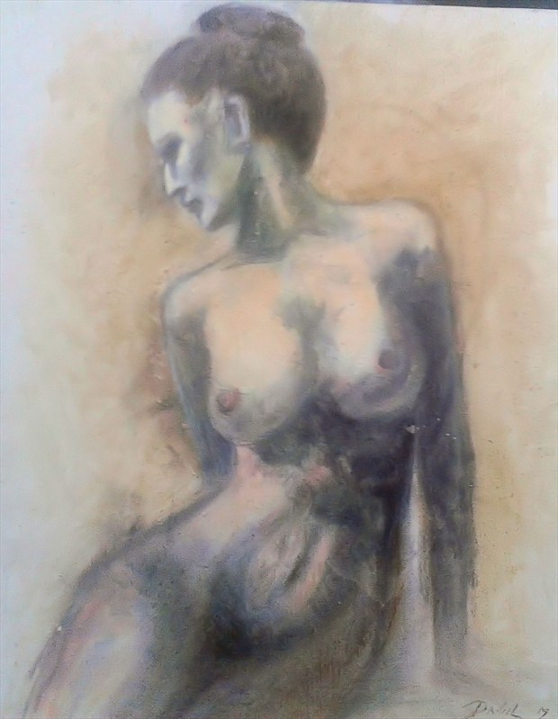 Maria Artistic Nude Artwork by Artist Daniel