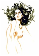 Marilou Artistic Nude Artwork by Artist Michel Canetti