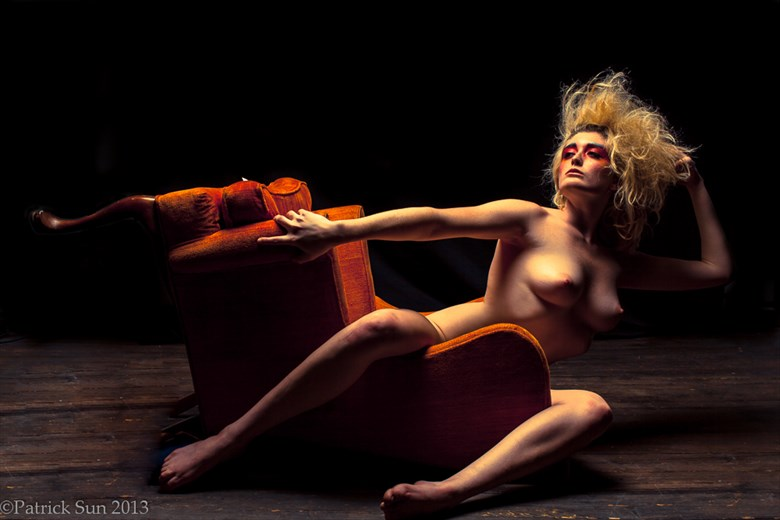 Marissa and the chair Artistic Nude Photo by Photographer Patrick Sun