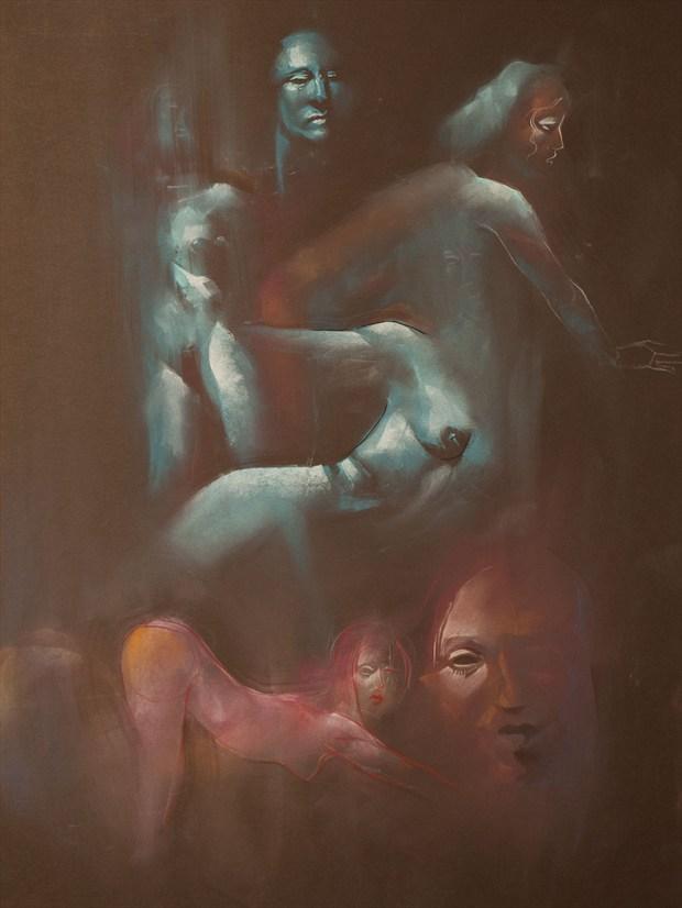 Marley series Artistic Nude Artwork by Artist T_Wayne