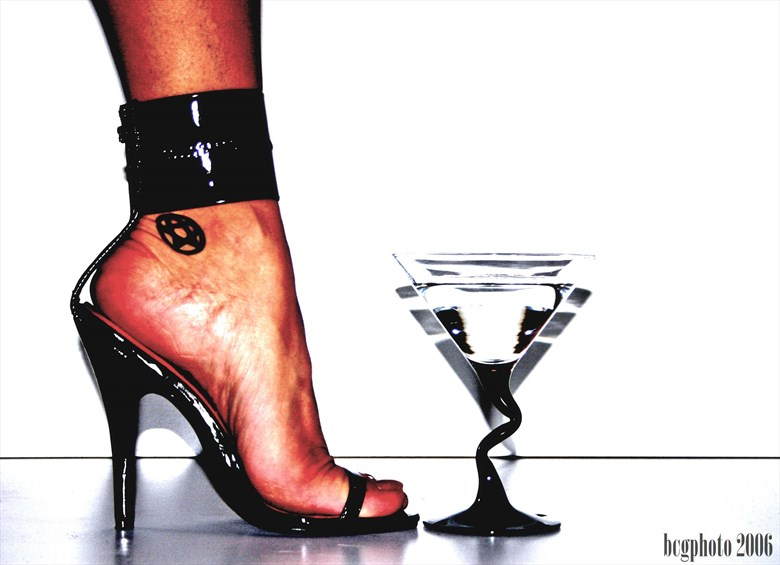 Martini & Heels Tattoos Photo by Photographer Barry Gallegos