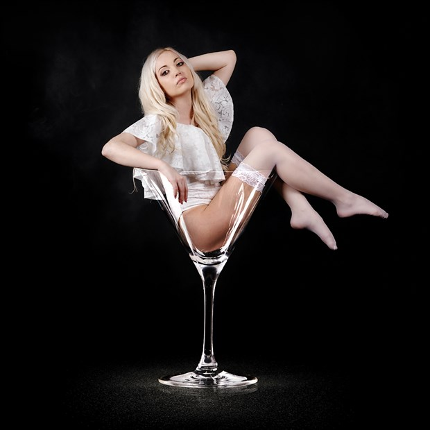 Martini glass Lingerie Photo by Photographer M. Photography