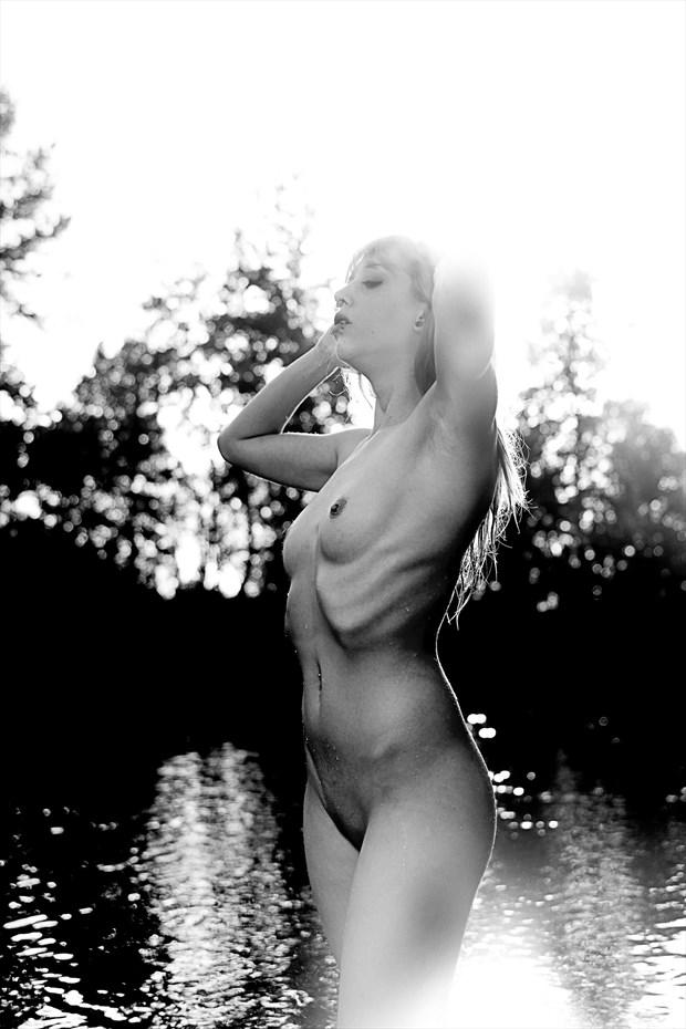 Marvolo skinny dipping Artistic Nude Photo by Photographer Joe Klune Fine Art
