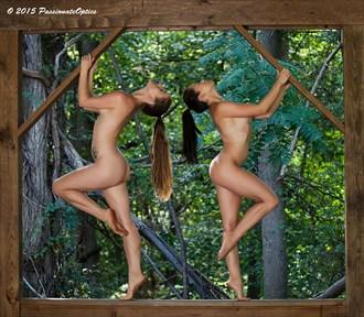 Mary Celeste and Tara Greir Artistic Nude Photo by Photographer Dave Curtis Photo