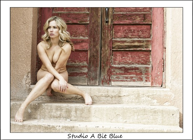 Marzena at Red Bench Artistic Nude Photo by Photographer Studio A Bit Blue