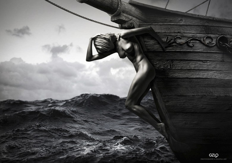 Mascar%C3%B3n Artistic Nude Artwork by Artist GonZaLo Villar