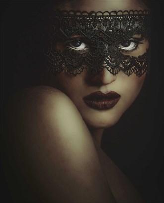 Mask Abstract Artwork by Photographer qaiser taqi