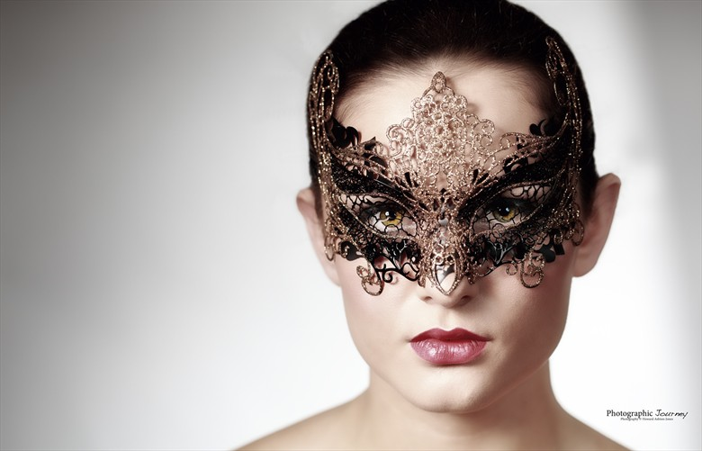 Mask Portrait Photo by Photographer Howard Ashton Jones