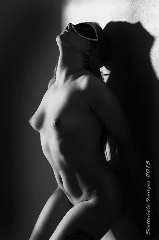 Masked Artistic Nude Photo by Photographer Scottsdale Images