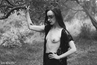 Masked Nature Photo by Model Myrtha Meadows
