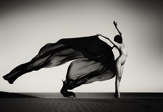Masked Phoenix Artistic Nude Photo by Photographer Mike Stacey
