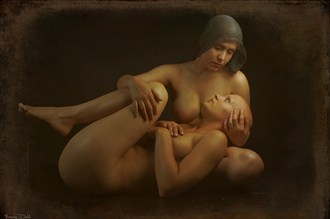 Maternal Instinct Artistic Nude Artwork by Photographer Thomas Dodd