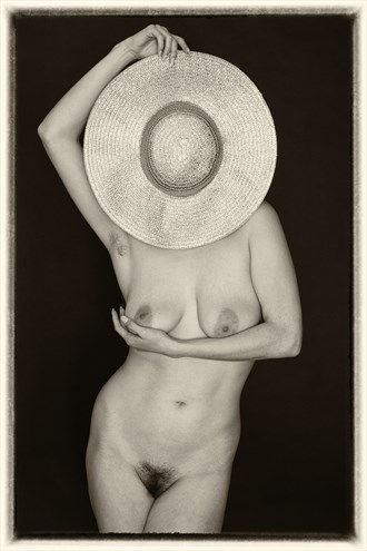 Maya's Hat Artistic Nude Photo by Photographer lancepatrickimages