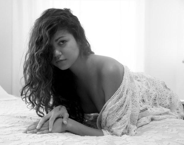 Maya at the B&B Artistic Nude Photo by Photographer Leland Ray
