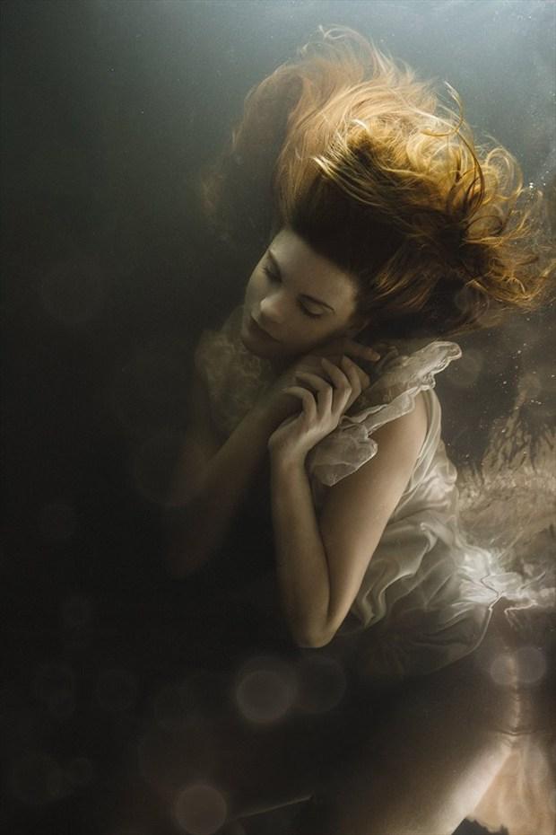 Me by Mira Nedyalkova Surreal Artwork by Model valentina feula