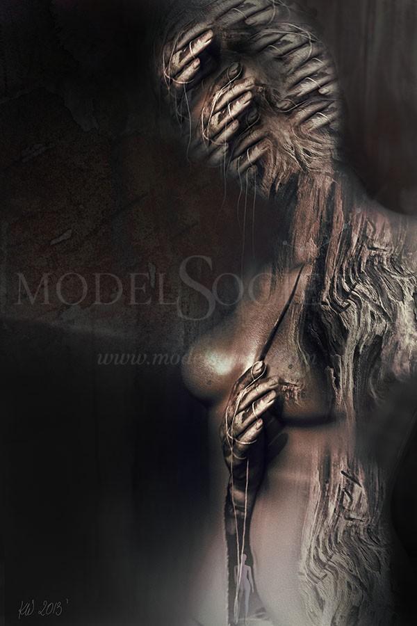 Meandry Duszy Surreal Artwork by Photographer Katarzyna Wieczorek