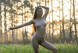 Meditation Artistic Nude Photo by Photographer Staunton Photo