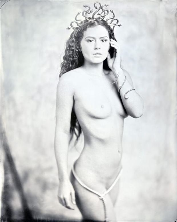 Medusa Artistic Nude Photo by Model Allie Summers