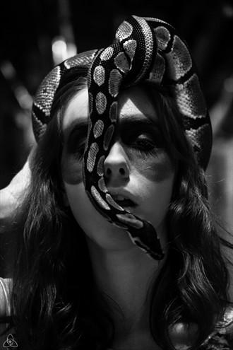 Medusa Experimental Photo by Model Ambioszka