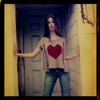 Megan Lessard Vintage Style Photo by Photographer Mario Peralta Photography