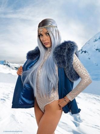 Mel the Snow Queen Fantasy Photo by Photographer dpdodson