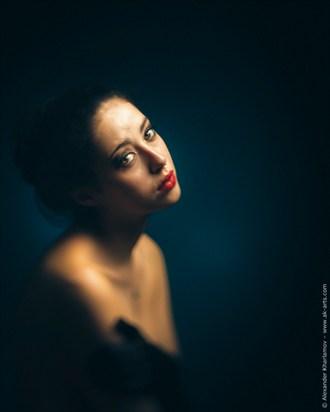 Melancholia and Salome Chiaroscuro Photo by Photographer Alexander Kharlamov