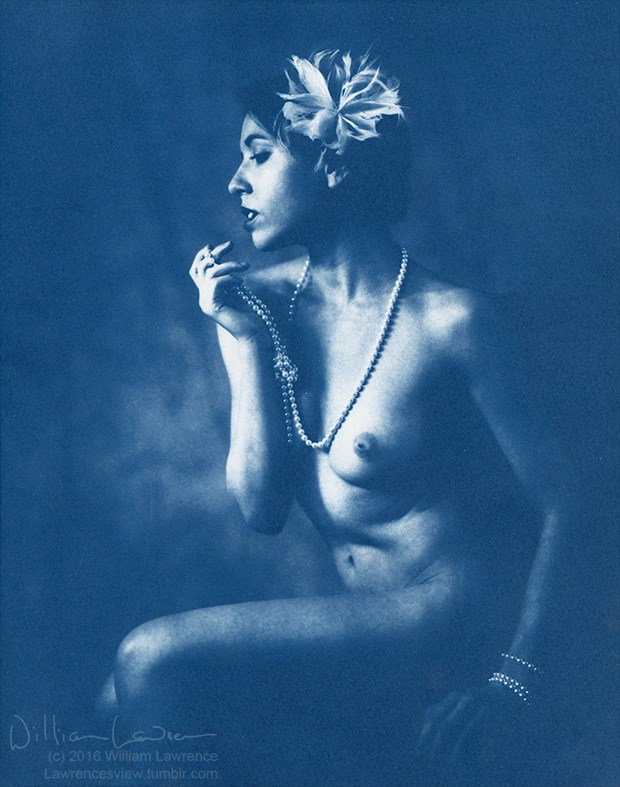 Melancholic, with Pearls Artistic Nude Photo by Photographer LawrencesView