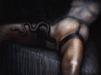 Melas Chasm(a) Artistic Nude Artwork by Artist Divine Mania