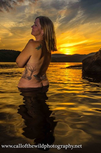 Melinda at Sunset Nature Photo by Photographer Call of The Wild