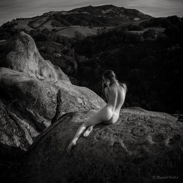 Melissa's World Artistic Nude Photo by Photographer Randall Hobbet