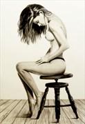 Melissa Artistic Nude Artwork by Artist DML ART