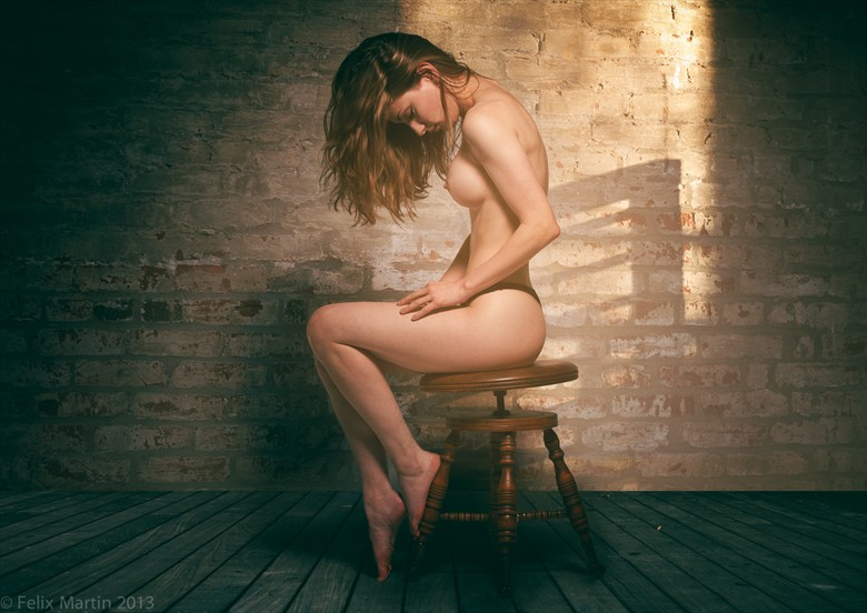 Melissa Artistic Nude Artwork by Photographer felix martin