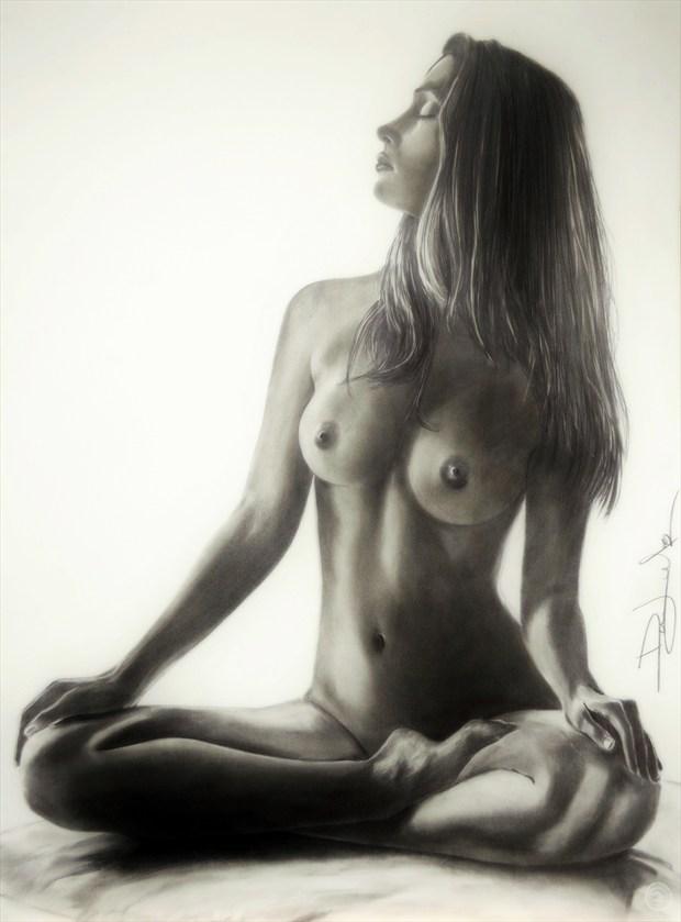 Melissa ll Artistic Nude Artwork by Artist DML ART