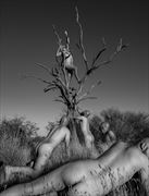 Men Riching for the sky.  Artistic Nude Artwork by Photographer JuanLozaPhotography