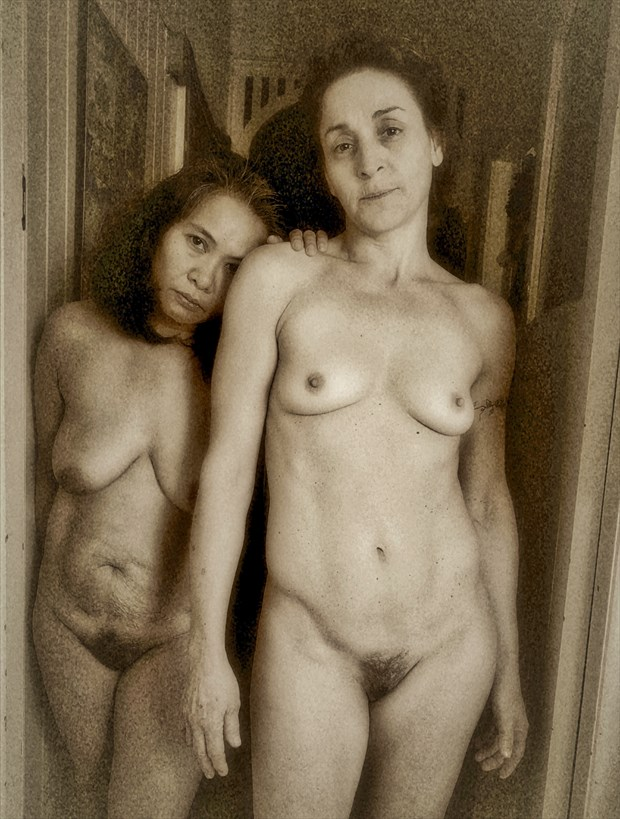Mercedes and Eva Artistic Nude Photo by Photographer dvan