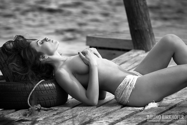 Mermaid Artistic Nude Photo by Photographer Bruno Birkhofer