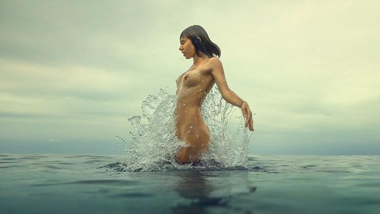 Mermaid. Artistic Nude Photo by Photographer dml