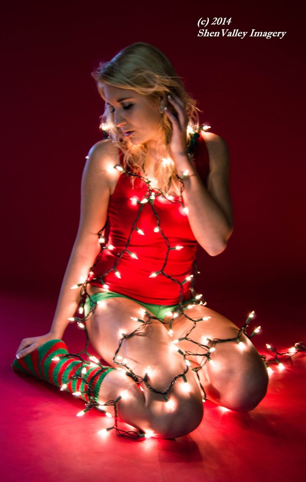 Merry Christmas   Kelsey Surreal Artwork by Photographer ShenValley Imagery