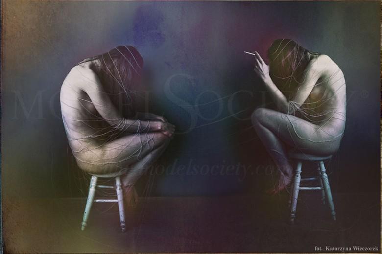 Metafizyka kobiety Emotional Artwork by Photographer Katarzyna Wieczorek