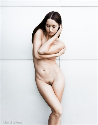 Metal Wall, 2013 Artistic Nude Photo by Photographer Richard Tallent