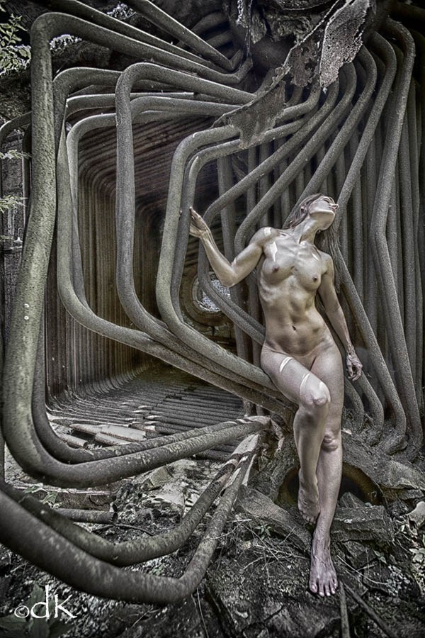 Metal Works Artistic Nude Photo by Photographer dennis keim