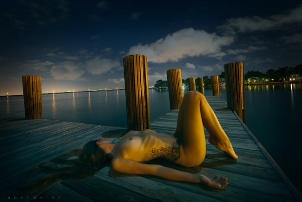 Miami Nights Artistic Nude Artwork by Photographer Mindplex