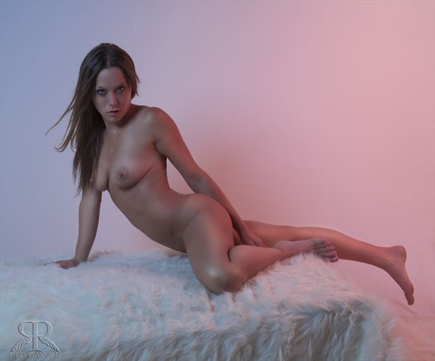 Michelle Paris Artistic Nude Photo by Photographer Red Rayven