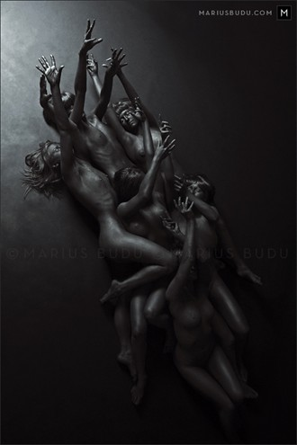 Midnight 1 Artistic Nude Artwork by Photographer Marius Budu
