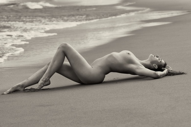 Mila on the beach Artistic Nude Photo by Photographer StromePhoto