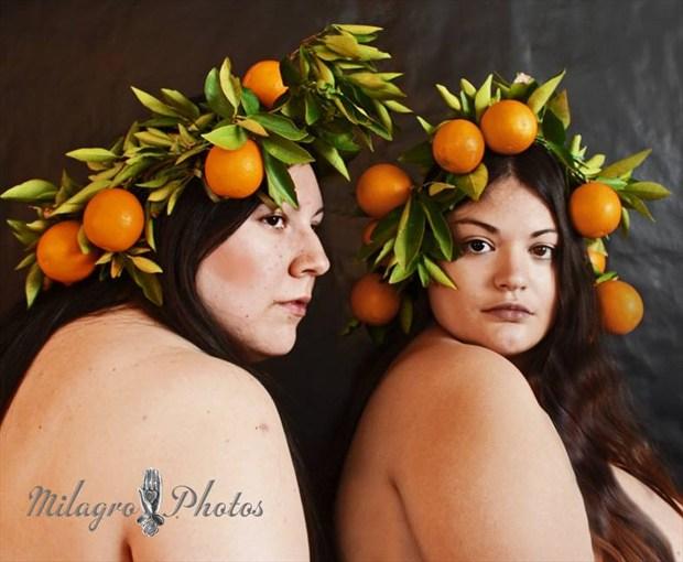 Milagro Photos, Tucson AZ, with model Liliana Artistic Nude Photo by Model Desert Rose